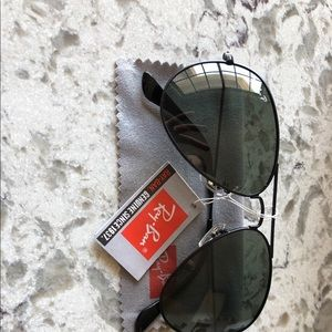 Ray-Ban Accessories - Ray-Ban RB-3026 Aviator Green Polarized 62mm